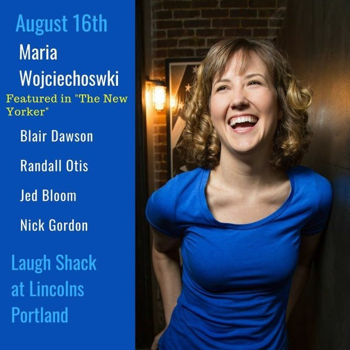 I'll be in Portland, ME tomorrow, and I'm really looking forward to trying out my 30 minutes of jokes about lighthouses.